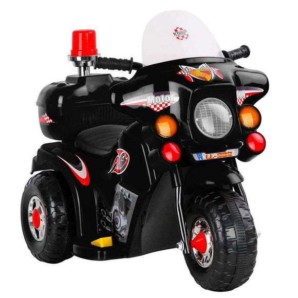 Rigo Kids Ride On Motorcycle | Black - Buytoys.com.au