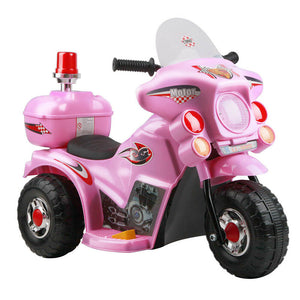 Rigo Kids Ride On Motorcycle | Pink - Buytoys.com.au