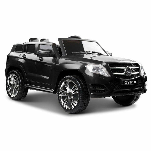Rigo Mercedes Benz ML450 Inspired Kids Ride On Car | Black - Buytoys.com.au