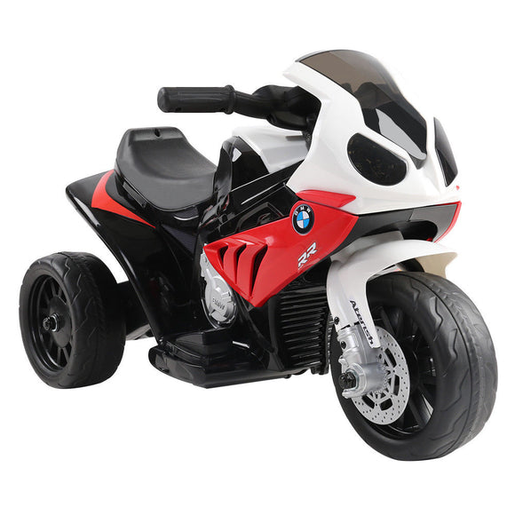 BMW S1000RR Licensed Kids Ride On Motorcycle Car | Red - Buytoys.com.au