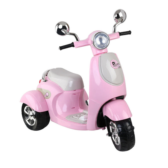 Rigo Vino Inspired Kids Ride On Motorcycle | Pink - Buytoys.com.au