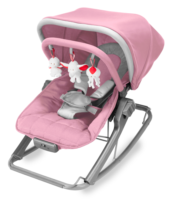 Maclaren Baby Rocker | Orchid Pink / Smoke Silver - Buytoys.com.au