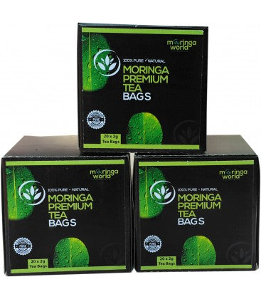 61. Moringa Tea Bag