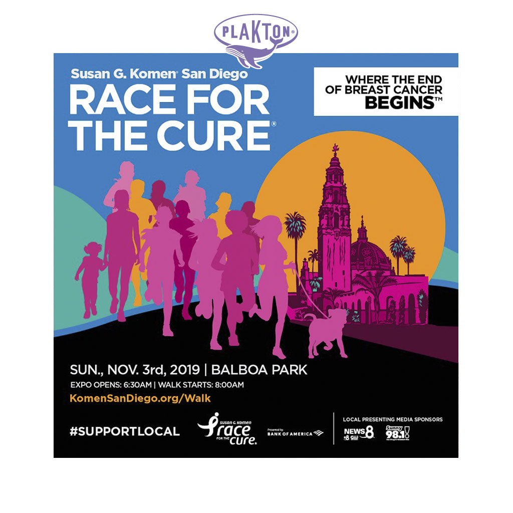 "Plakton joins ""The Race for The Cure"""