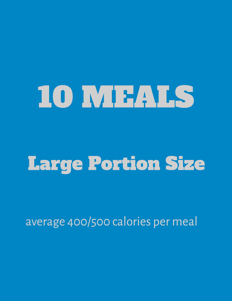 10 Large Meals