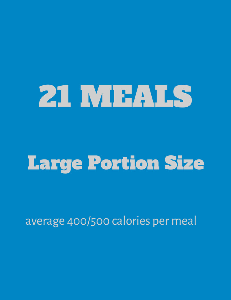 21 Large Meals