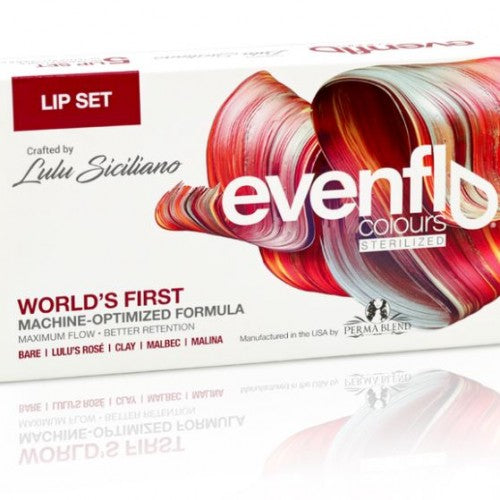 Evenflo Lip Pigment set by Lulu Siciliano - Beauty Shop Direct