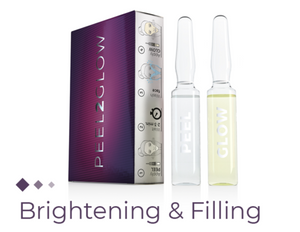 Skin Brightening & Filling PEEL2GLOW - Beauty Shop Direct