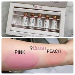 XY Blush - XY BB Glow  PEACH and PINK - Beauty Shop Direct