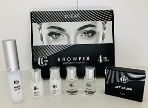 Lucas Cosmetics BrowFix permanent shape kit - Beauty Shop Direct