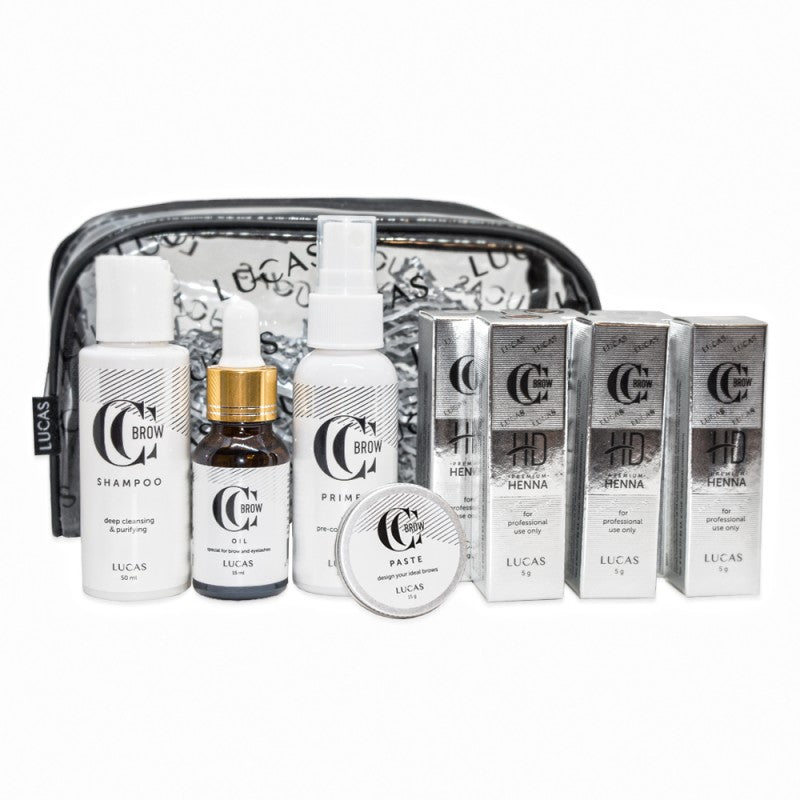 CC Brow Premium Henna HD Kit Nr1 - Beauty Shop Direct