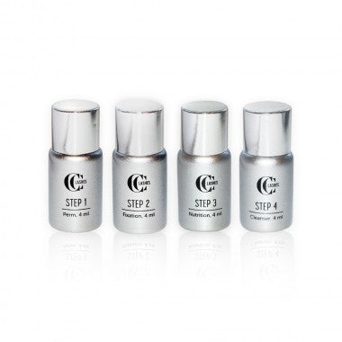 CC Lashes 4 steps system for eyelash lifting - Beauty Shop Direct