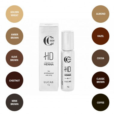 CC Brow Premium Henna HD (5 g) - Beauty Shop Direct