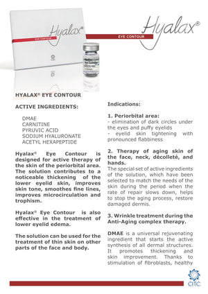 Hyalax Meso Eye Contour - Beauty Shop Direct