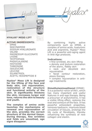 Hyalax Meso Face Lift - Beauty Shop Direct