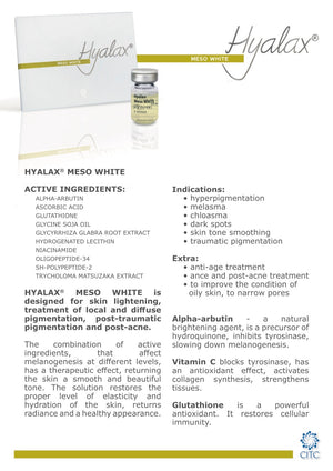 Hyalax Meso White (5 ml) - Beauty Shop Direct