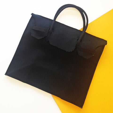 Rectangular Bag in Black