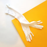 Glove Clutch | White