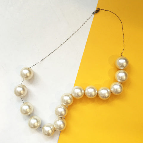 Jumbo Pearl Necklace