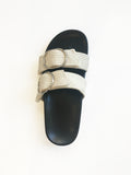 Double Strap Slide | Natural