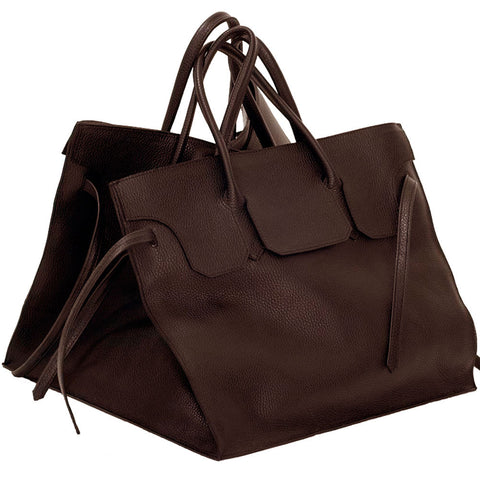 Four Sided Rectangular Bag | Cocoa
