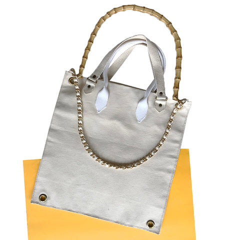 Handle Bag with Grommets