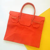 Rectangular Bag in Orange