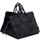 Four Sided Rectangular Bag | Black