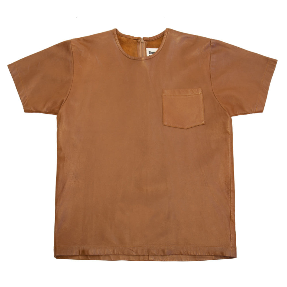 Slow And Steady Wins The Race Leather Pocket T Shirt