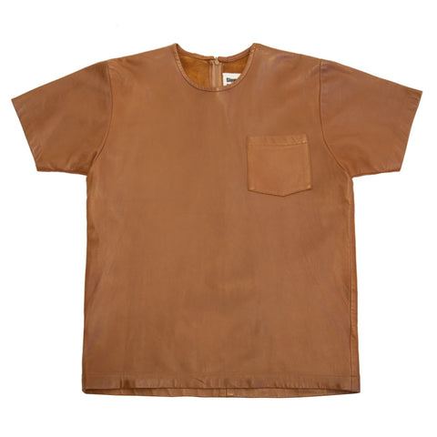Leather Pocket T-Shirt