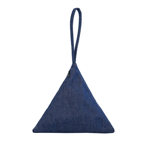 Pyramid Bag | Denim