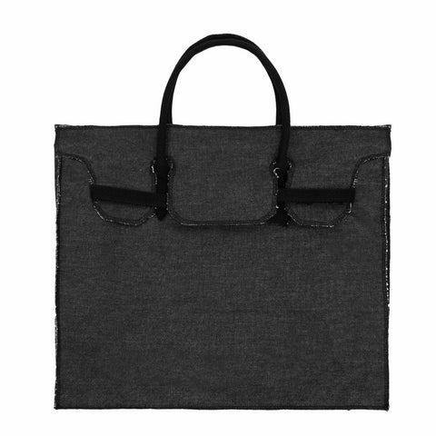 Rectangular Bag | Black
