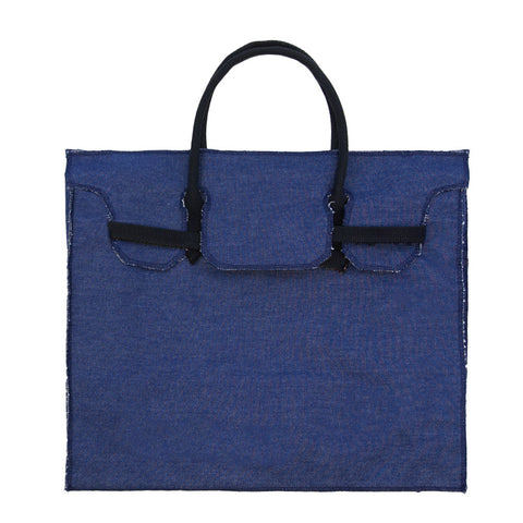 Rectangular Bag | Denim