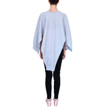 Cape in Grey Heather