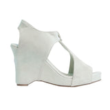 Wedge Sandal | Light Denim