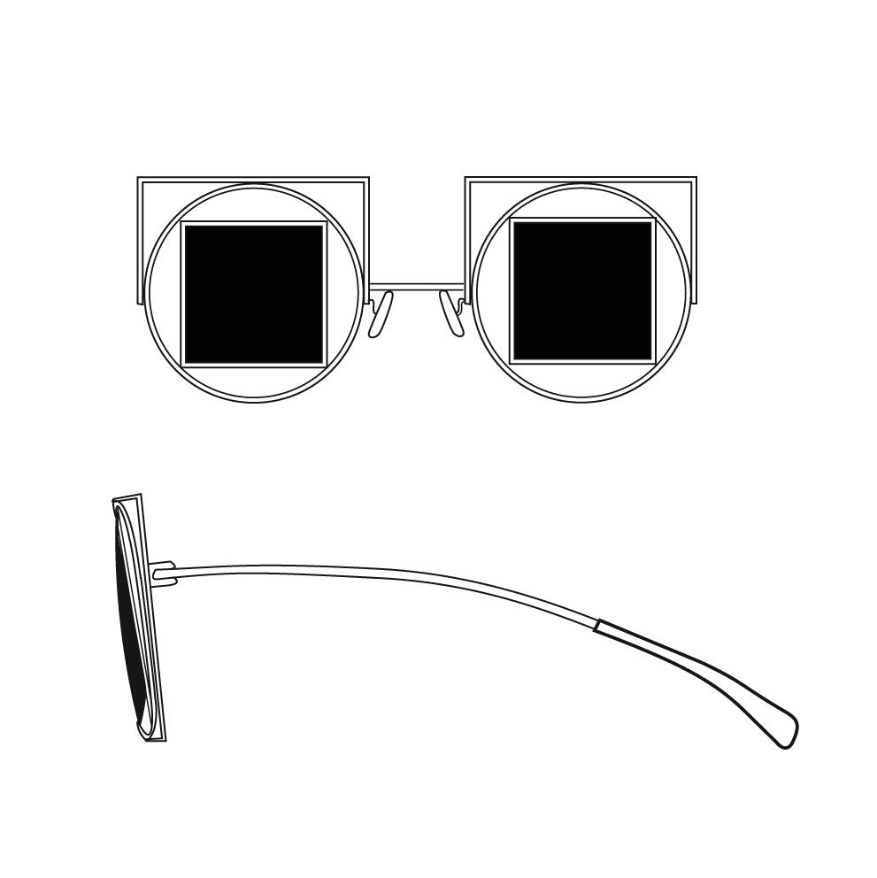 51c2981829 Slow and Steady Wins the Race — Square-Circle-Square Sunglasses