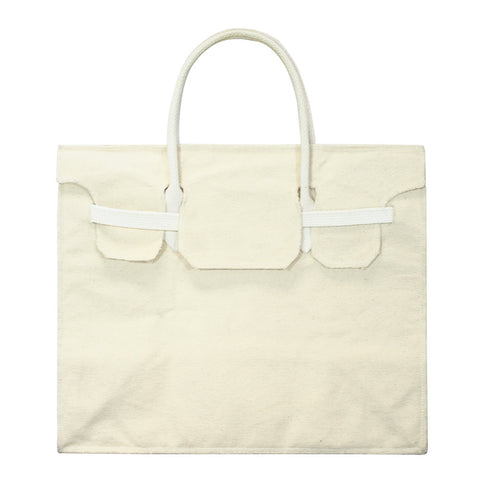 Rectangular Bag | Natural Canvas