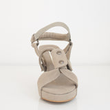 Backpack Strap Wedge in Military Olive | Size 37