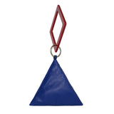 Pyramid Bag with Geometric Handle