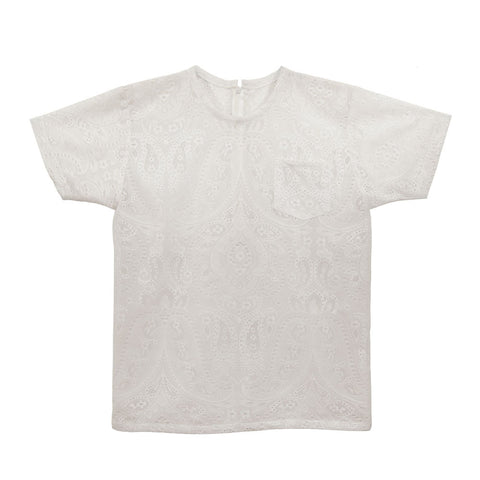 White T-Shirt | Lace