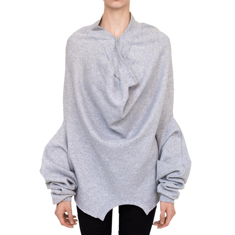 Upside Down Sweatshirt | Heather Grey