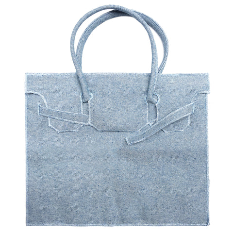 Rectangular Bag | Stonewash Denim