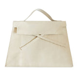 Trapezoidal Bag | Natural Canvas
