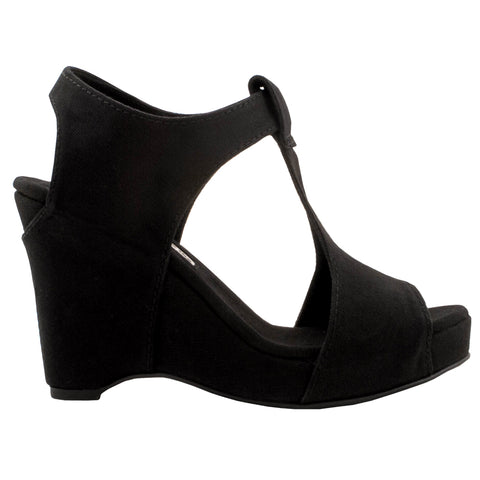 Wedge Sandal | Black