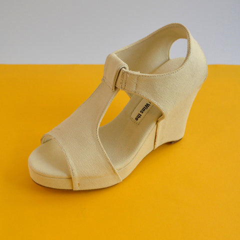 Wedge Sandal | Natural | Size 35