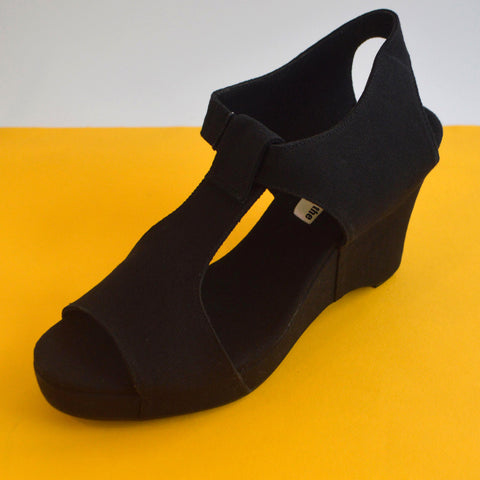 Wedge Sandal | Black | Size 41