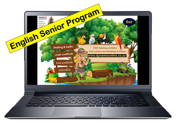 English - Senior Program (Grade 1 - Grade 12)