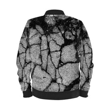 Load image into Gallery viewer, Men's bomber jacket in concrete digital print.
