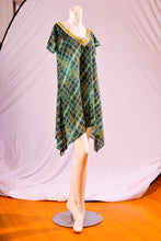 Load image into Gallery viewer, Go Green Glass Block Tunic / Dress