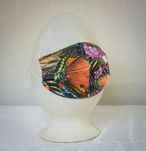 Load image into Gallery viewer, Masks Made from Original Digital Prints of Living Butterflies